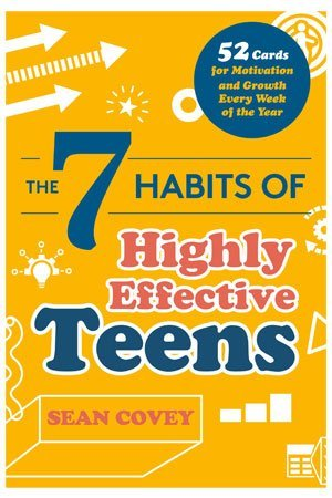 The 7 Habits of Highly Effective Teens Card Deck by Sean Covey cover