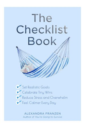 The Checklist Book by Alexandra Franzen cover