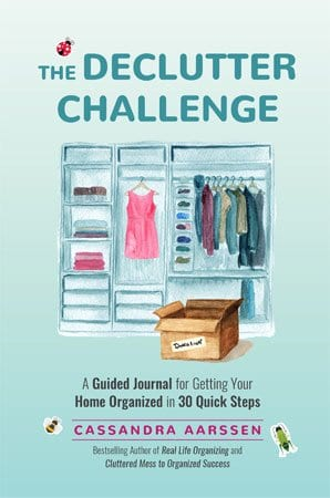 The Declutter Challenge by Cassandra Aarssen cover