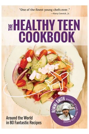 The Healthy Teen Cookbook by Remmi Smith cover