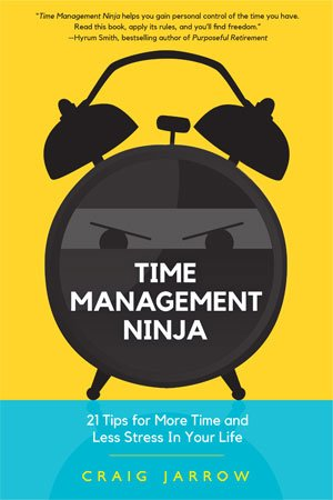 Time Management Ninja by Craig Jarrow cover