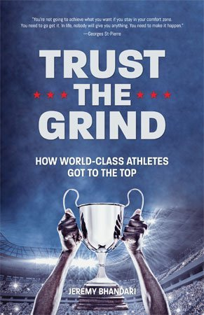 Trust the Grind by Jeremy Bhandari cover